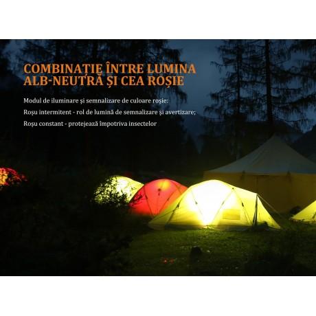 FENIX CL20R camping flashlight