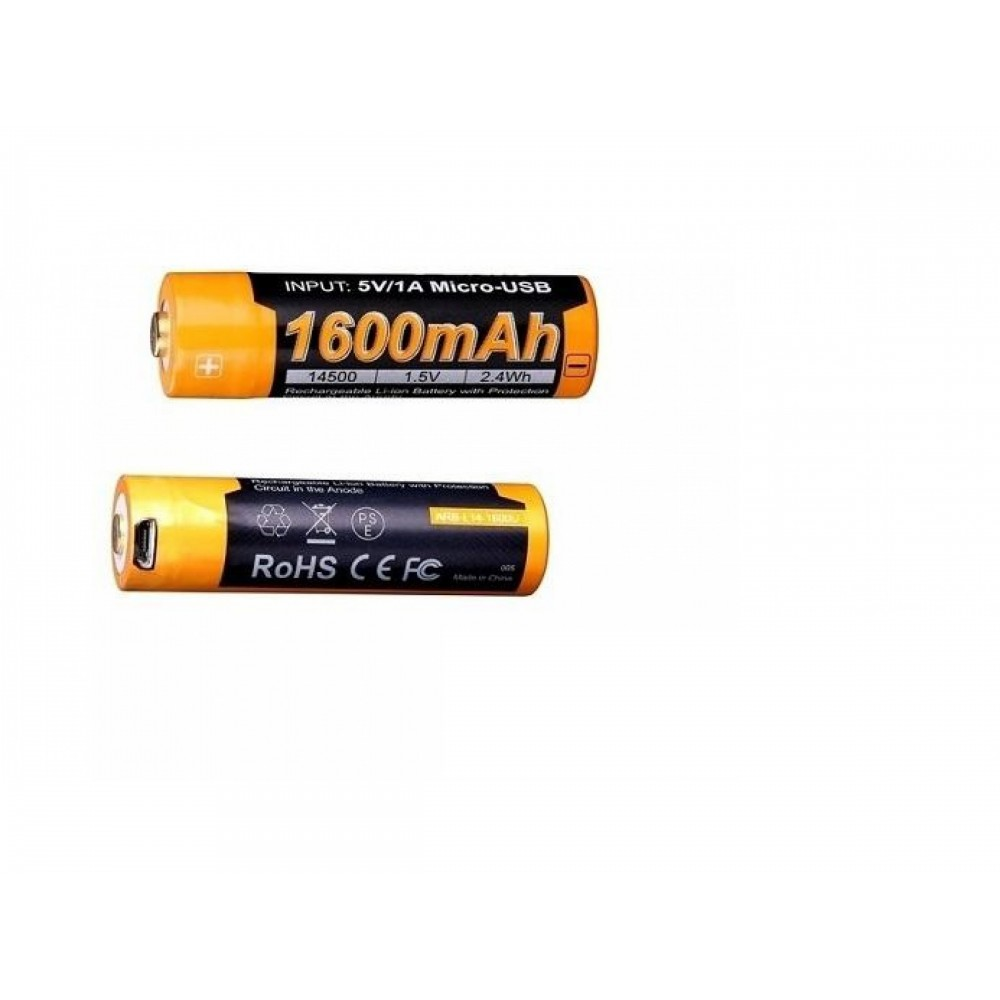 Acumulator Fenix 14500 ARB-L14-1600U 1600mAh