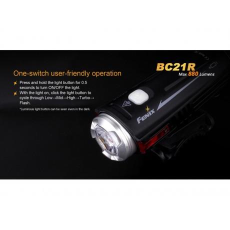 Fenix BC21R bicycle flashlight