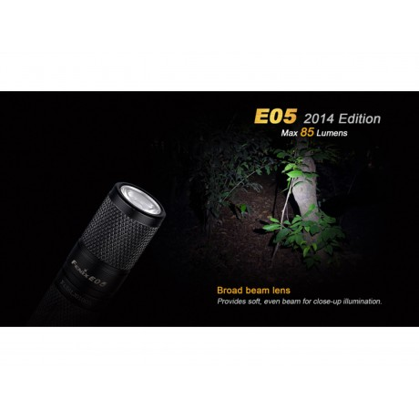 Fenix E05 pocket flashlight