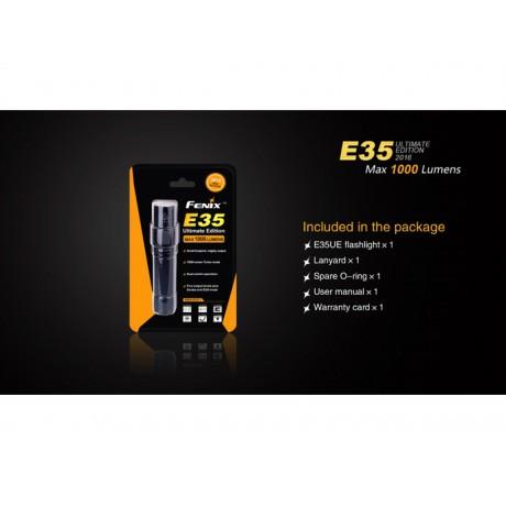 Lanterna Fenix E35 UE Editie 2016