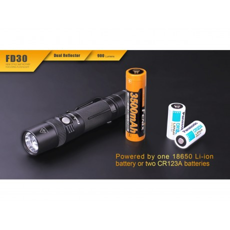Fenix FD30 flashlight