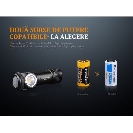 Fenix LD15R rechargeable led flashlight