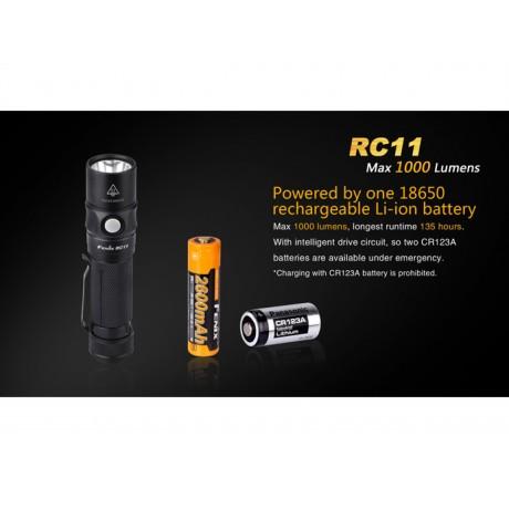 Fenix RC11 high power torch