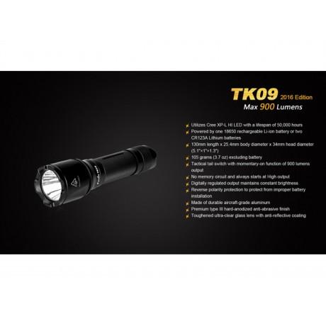 Fenix TK09 torch 2016 edition