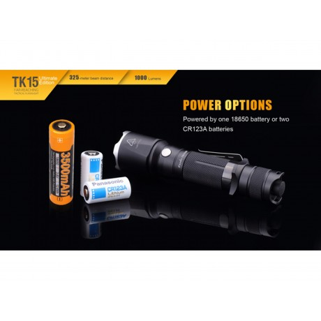 Lanterna cu led puternica pentru cautare si salvare Fenix TK15UE