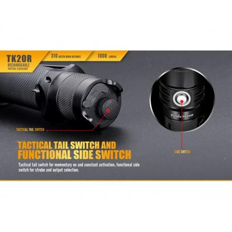 Lanterna cu led reincarcabila Fenix TK20R