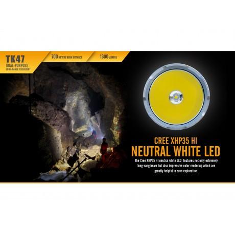 Lanterna cu led puternica pentru vanatoare Fenix TK47