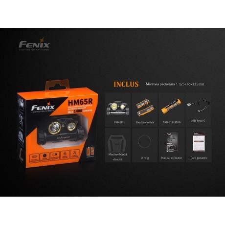 Fenix HM65R led headlamp